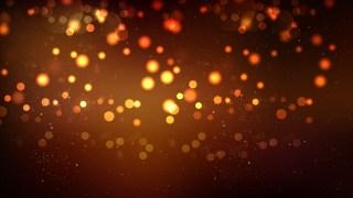 Black and Brown Bokeh Defocused Lights Background