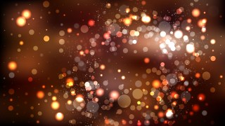 Abstract Black and Brown Blurry Lights Background