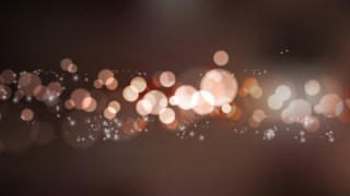 Black and Brown Bokeh Background