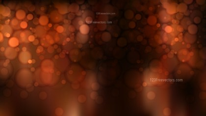 Abstract Black and Brown Blurred Lights Background Vector Graphic
