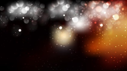 Black and Brown Bokeh Lights Background Graphic