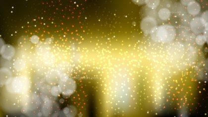 Abstract Black and Gold Bokeh Background Graphic