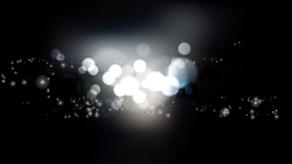Black and Grey Blurred Bokeh Background Illustration