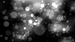 Black and Grey Bokeh Defocused Lights Background Vector Image
