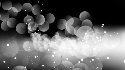 Abstract Black and Grey Blurred Bokeh Background