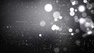 Black and Grey Defocused Lights Background