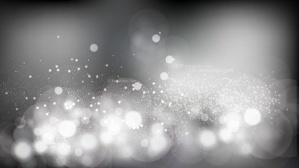 Black and Grey Blurry Lights Background Illustration