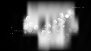 Abstract Black and Grey Bokeh Background Design