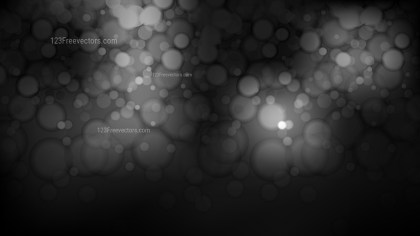 Black and Grey Blur Lights Background Vector