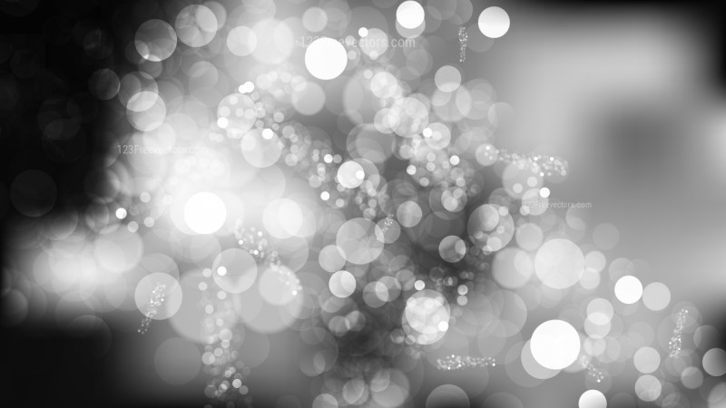 Abstract Black and Grey Defocused Lights Background Illustrator