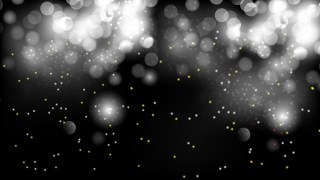 Abstract Black and White Bokeh Defocused Lights Background Vector Image