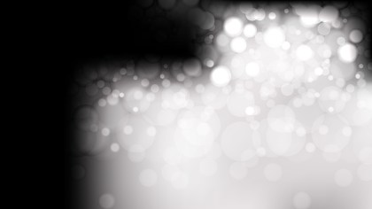 Black and White Blurry Lights Background