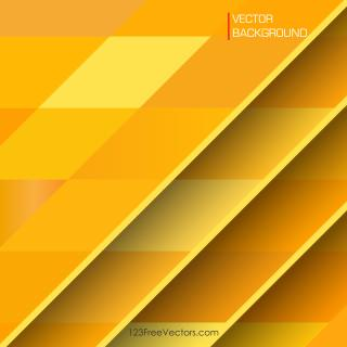 Yellow Geometric Background Illustrator