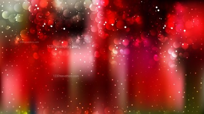 Abstract Black Red and Green Lights Background