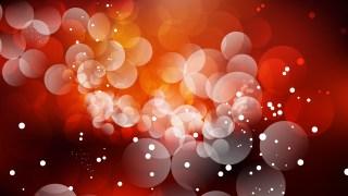 Black Red and Orange Defocused Lights Background