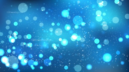 Blue Bokeh Background Vector Graphic