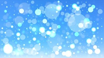 Blue Blurry Lights Background Illustration