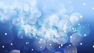 Blue Illuminated Background Vector Art