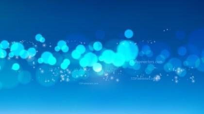 Blue Lights Background Illustration