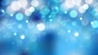 Blue Bokeh Background Illustrator