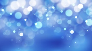 Abstract Blue Defocused Background Vector Art