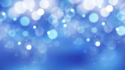 Abstract Blue Defocused Background Vector Art