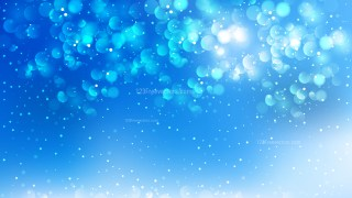 Abstract Blue Blurred Lights Background