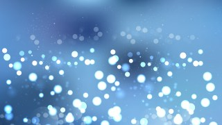 Abstract Blue Blurry Lights Background Illustration