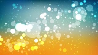 Blue and Orange Lights Background Vector Art