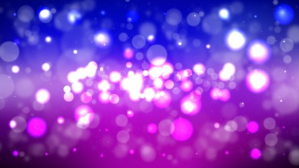 Blue and Purple Bokeh Background