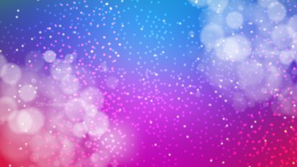 Abstract Blue and Purple Bokeh Background