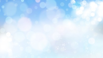 Blue and White Blurred Lights Background Graphic