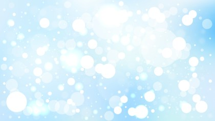 Abstract Blue and White Illuminated Background