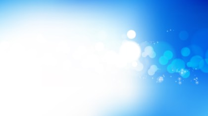 Blue and White Blurred Lights Background Vector Graphic