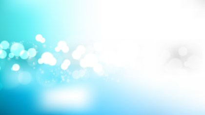 Abstract Blue and White Blurred Lights Background Vector Graphic