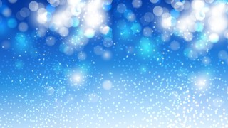 Blue and White Blurry Lights Background Vector Art