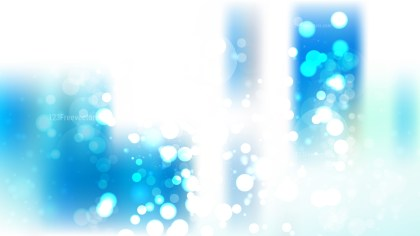 Abstract Blue and White Lights Background Vector Image
