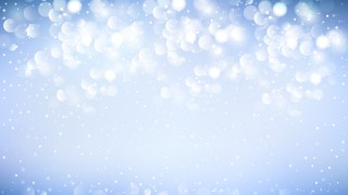 Blue and White Defocused Background Image