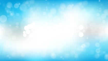 Blue and White Blur Lights Background Illustrator