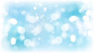 Blue and White Bokeh Defocused Lights Background Vector Image