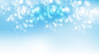 Blue and White Lights Background Vector Art