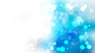Abstract Blue and White Illuminated Background Illustration