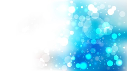 Abstract Blue and White Illuminated Background Illustration