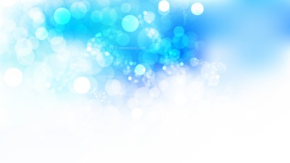 Blue and White Lights Background
