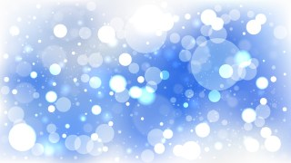 Blue and White Lights Background Illustration