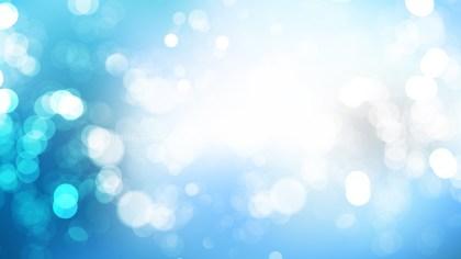Blue and White Lights Background Illustration