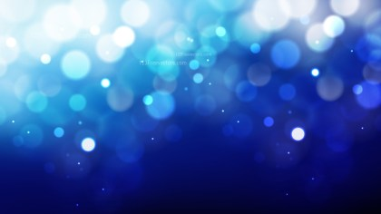 Abstract Blue Black and White Blurred Lights Background Vector Graphic
