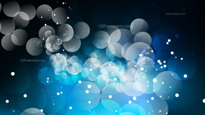 Abstract Blue Black and White Defocused Background Vector Art