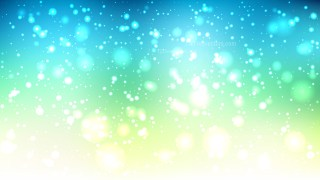 Blue Green and White Defocused Background Vector Illustration