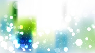Blue Green and White Bokeh Defocused Lights Background